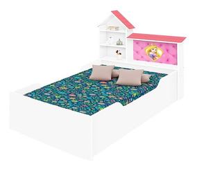 Cama Infantil Com Casinha De Princesa Para Meninas Lilly