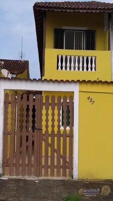 Sobrado Com 2 Dorms, Balneário Itaguai Mongaguá - R$ 169 Mil, Cod: 7083 - V7083