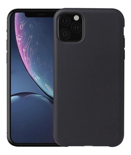 Funda iPhone 11 11pro 11pro Max Silicona Liquida Colores