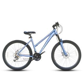 Bicicleta Best De Aluminio Mtb Volta Aro 27.5 Celeste