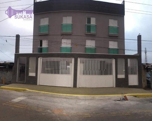 Apartamento Com 2 Dormitórios À Venda, 50 M² Por R$ 240.000,00 - Jardim Do Estádio - Santo André/sp - Ap1318