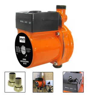 Bomba Pressurizadora 120 Watts 1600l 220v - Intech Machine