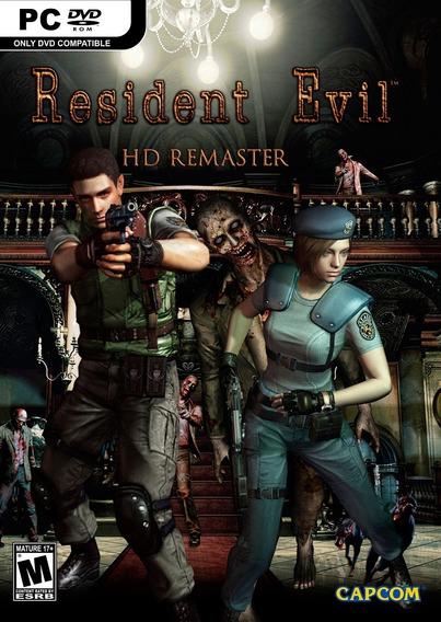 Resident Evil Hd Remaster Steam Pc Original(envio Imediato)