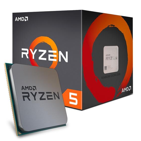 Processador Amd Am4 Ryzen R5-1400 3.4ghz/10mb