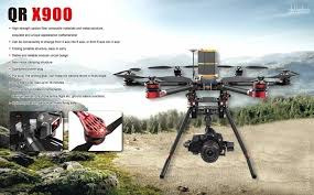 Drone Walkera Qr X900+cámara Full Hd+paracaídas