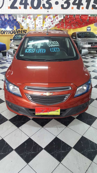 Chevrolet Onix Lollapalooza 1.0 Ano 2014 Laranja 5 Portas
