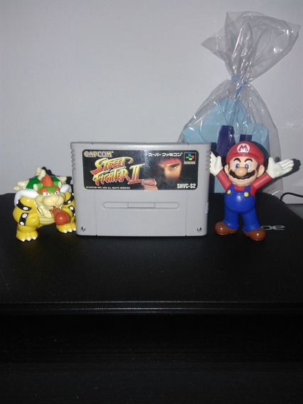 Street Fighter 2 Original Super Famicom Snes