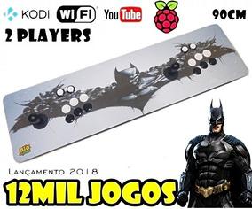 Fliperama Multijogos Arcade Batman 12 Mil Jogos + Tvbox Kodi