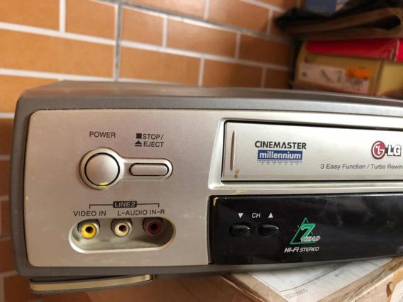 Video Cassete Videocassete Lg 7 Cabeças Vhs C/ Defeito Leia