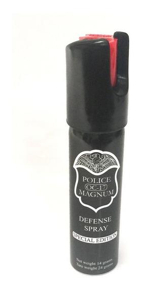 Gas Pimienta Lacrimogeno 22 Gramos Police Con Llavero Usa°
