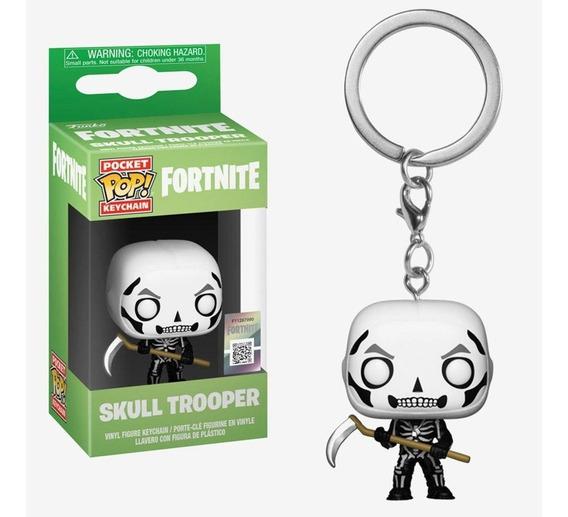 Chaveiro Pop! Keychain - Fortnite - Skull Trooper