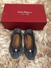Flats Salvatore Ferragamo Originales Envío Gratis