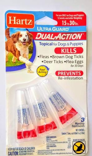 Pipetas Antipulgas Y Garrapatas Para Perros De 6,8 A 13,6 Kg