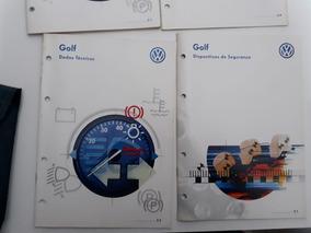 Manual Do Proprietário Volkswagen Golf Orig. Perfeito