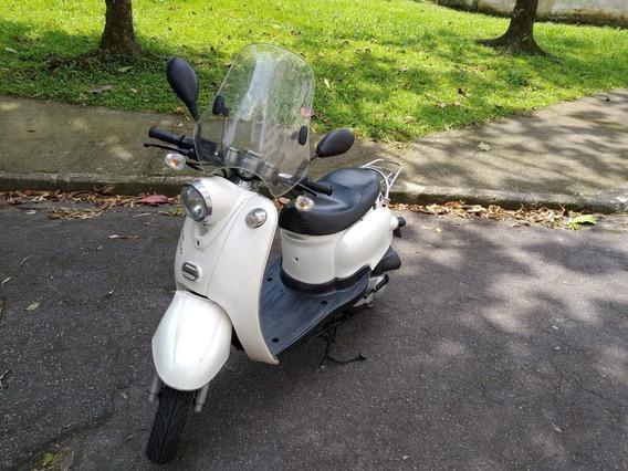 Shineray Retrô 50cc Scooter Retro 2015 Excelente Estado