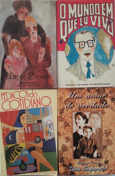 4 Livros De Zíbia Gasparetto
