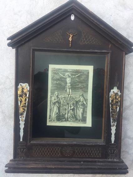 Nicho Arte Sacro Arte Religioso Grabado Antiguo