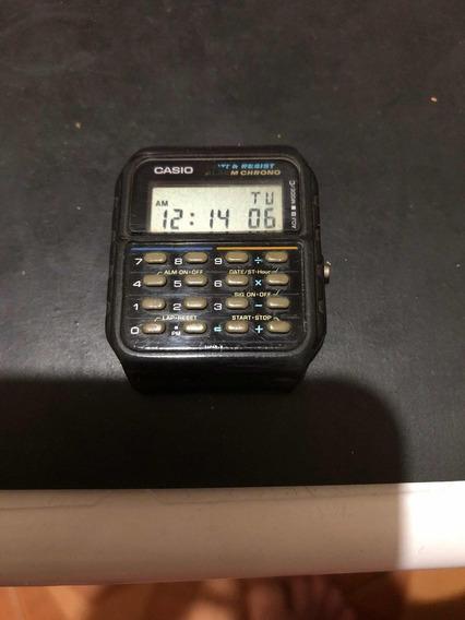 Relógio Casio Calculadora Ca 55