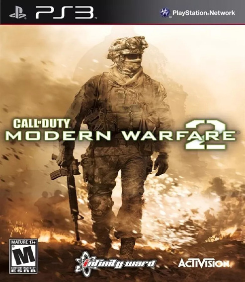 Call Of Duty Modern Warfare 2 Playstation 3 Mídia Física