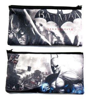 Cartuchera De Batman Arkham City Ps3 Dc