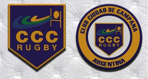 Parche Termoadhesivo Escudo Club Ciudad De Campana Rugby