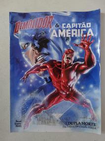 Demolidor E Capitão América! Marvel Graphic Novel! Mai 2007!