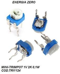 Minitrimpot 1v 2k 0,1w 202 Pac 2 Unid Cod.tri1124 Frete Cr