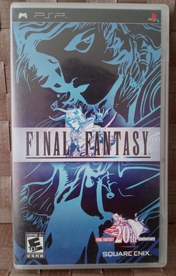 Psp Game Final Fantasy 20th Anniversary Completo - Perfeito