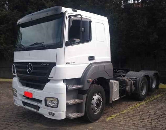 Mercedes - Axor 2544 - 6x2 - 2009 - Teto Baixo - Manual