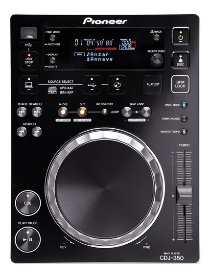Par De Cdj 350 Pioneer + Mixer Vmx 300 Usb