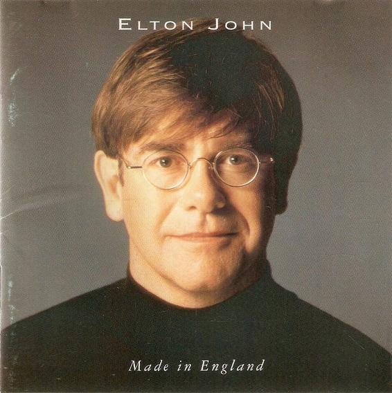 Cd Elton John - Made In England - Semi Novo***