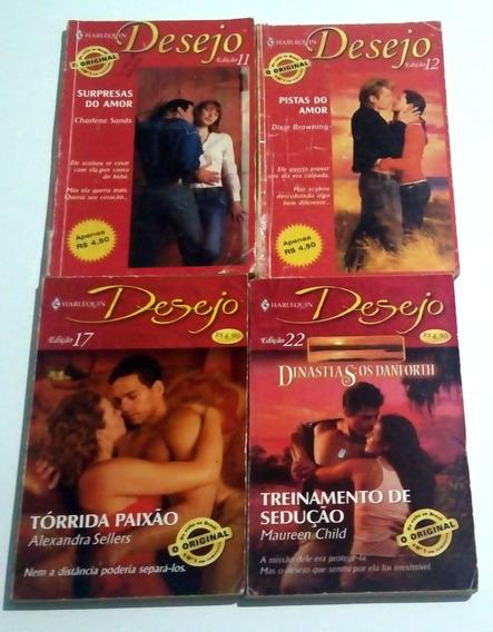 Kit 3 Livros Harlequin Books Desejo Destinos Diversos