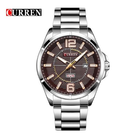 Relógio Masculino Curren 8271 De Pulso Original Promoção