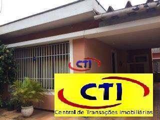Casa Térrea Com 3 Dormitórios À Venda, 180 M² - Centro - São Bernardo Do Campo/sp - Ca0370