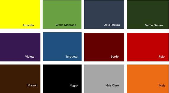 Tela Lisa Para Encuadernación X 1 Mt. Ver Video De Colores