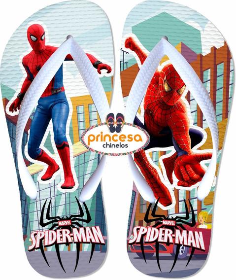 Chinelos Personalizados + Barato Do Homem Aranha