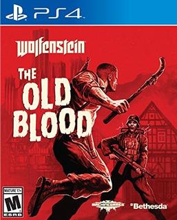 Juegos,wolfenstein The Old Blood - Playstation 4