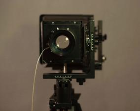 Câmera Analógica Grande Formato Horseman 4x5 / 8x10 + Lente