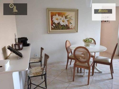 Apartamento Com 2 Dormitórios À Venda, 75 M² Por R$ 390.000,00 - Condomínio Santa Claudina - Vinhedo/sp - Ap0578