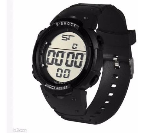Reloj Honhx S-shock Negro Deportivo