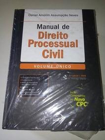 Livro - Manual De Direito Processual Civil - 2015 Novo Cpc