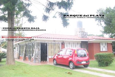 U$s 190.000=impacable Casa Centrica En Esquina