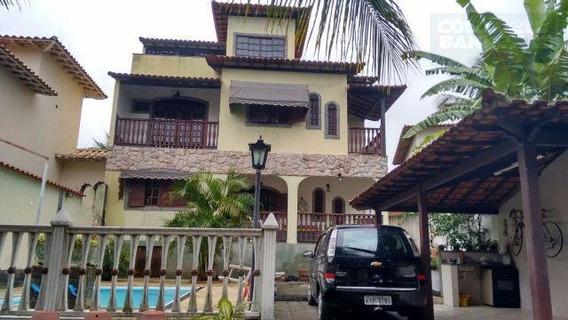 Sobrado Residencial À Venda, Bacaxa, Saquarema. - Codigo: So0086 - So0086
