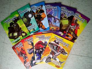 Enciclopedia Transformers Completa 10 Libros Para Niños.