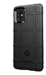 Capa Case Original Rugged Galaxy A71+pelicula Vidro Full 3d