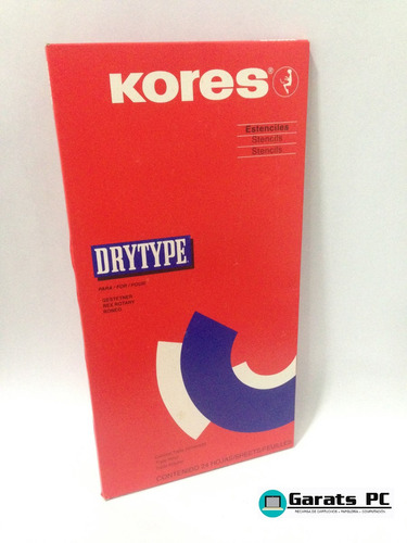 Kores Drytype