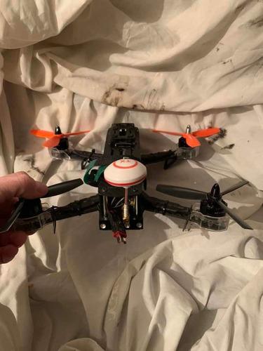 Drone Eachine 250 Zmr + Emisora+casco Fpv+3 Baterias+ Cargad