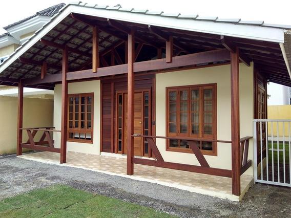 Excelente Casa Rústica Em Ótimo Condomínio De Vargem Grande