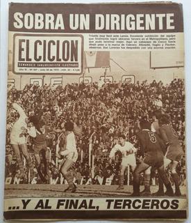 El Ciclon 567 San Lorenzo 4-0 A Lanus Gasometro Doval 1970