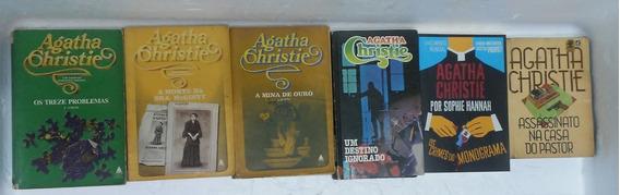 Agatha Christie 6 Livros Complete Sua Coleção Frete 20,00